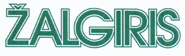 Zalgiris figurinis logotipas